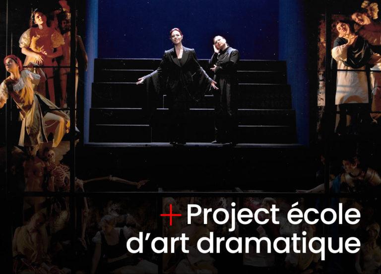 Project école d'art dramatique